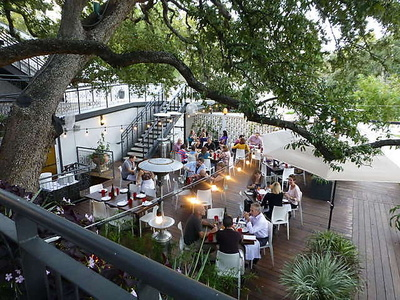 Olive And June Offers The Definitive Outdoor Dining Experience In Austin Restaurant S Treehouse Patio Makes You Feel As If Re Actually A